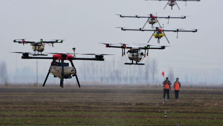 Pestizid-Drohnen in China: Die Welt ist auf eine Diktatur mit globalem Führungsanspruch, die wissenschaftlich und technisch Spitze ist, nur sehr unzureichend vorbereitet