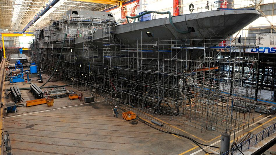 A stealth frigate is manufactured by France's state-owned DCNS: Will French warship sales harm German jobs?