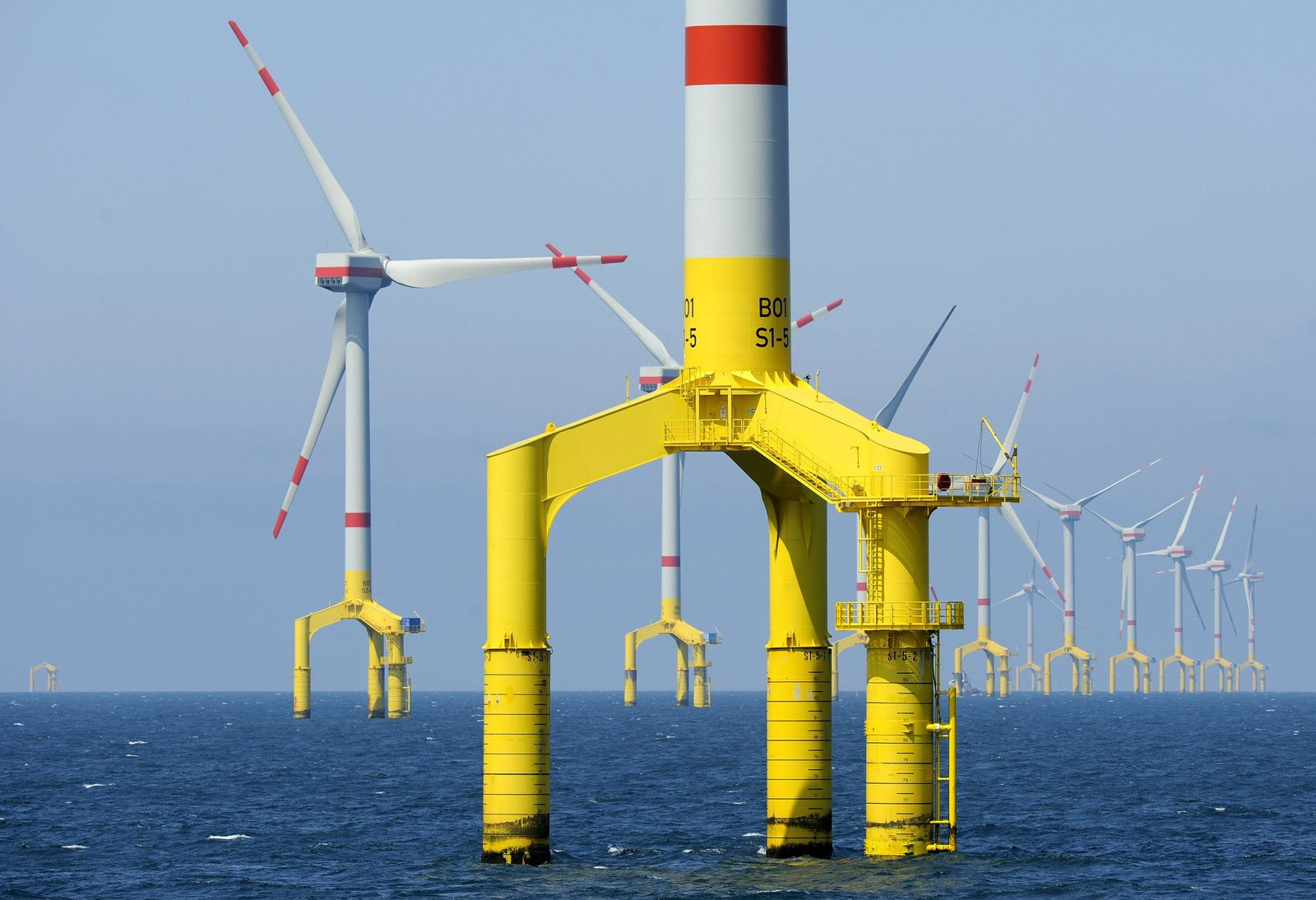 Offshorewindanlage / Windkraft