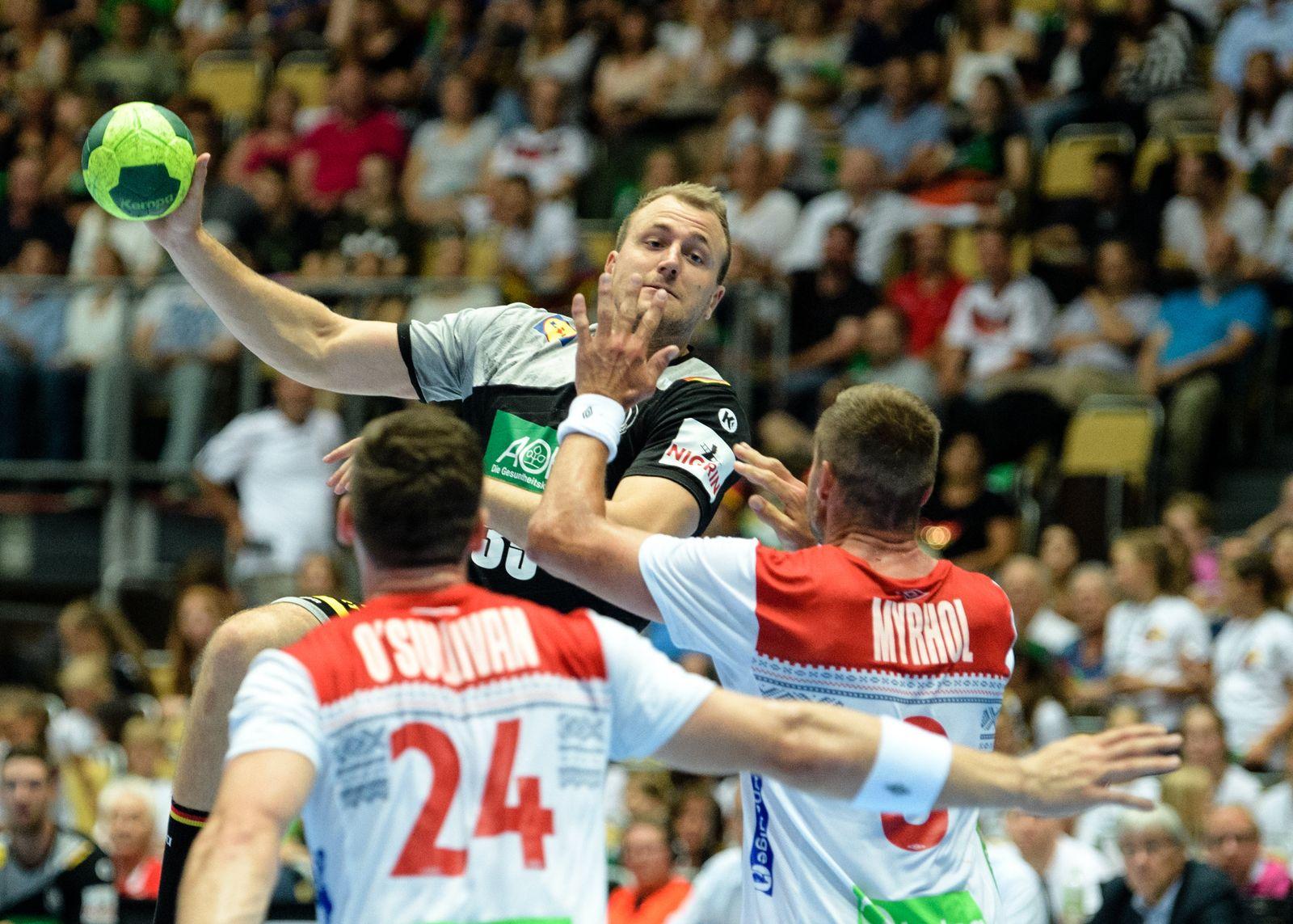 Handball Länderspiel / Deutschland - Norwegen