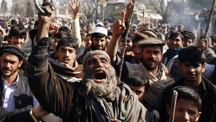 Afghanistan: Wütende Proteste gegen den Westen