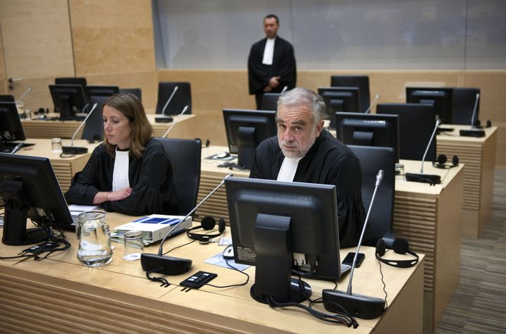 "Prosecuter Ocampo during a session about Libya at the International Criminal Court (ICC) in June 2011: ""We had to fix Libya."""