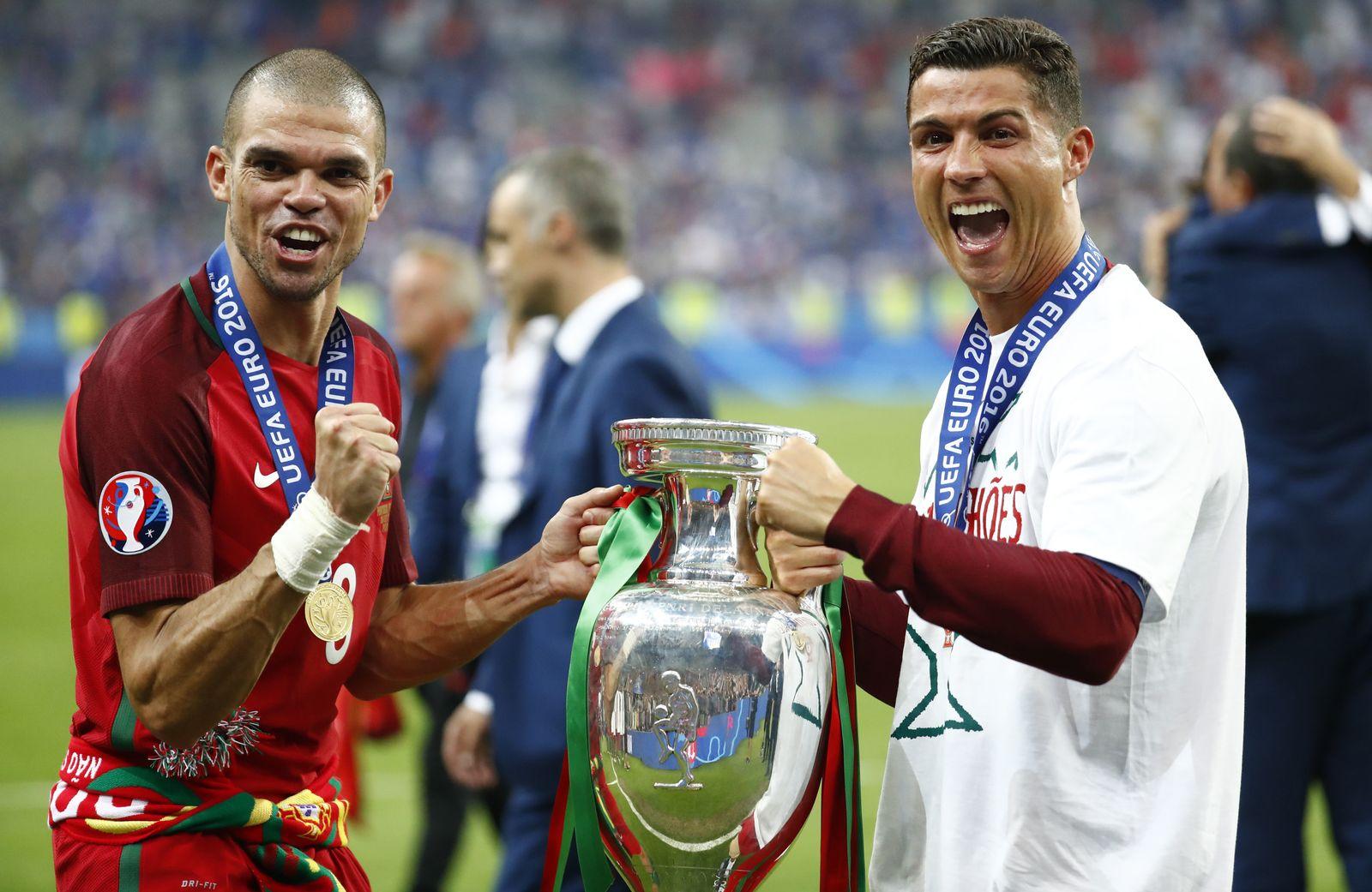 EURO 2016 / Finale / Portugal / Cristiano Ronaldo