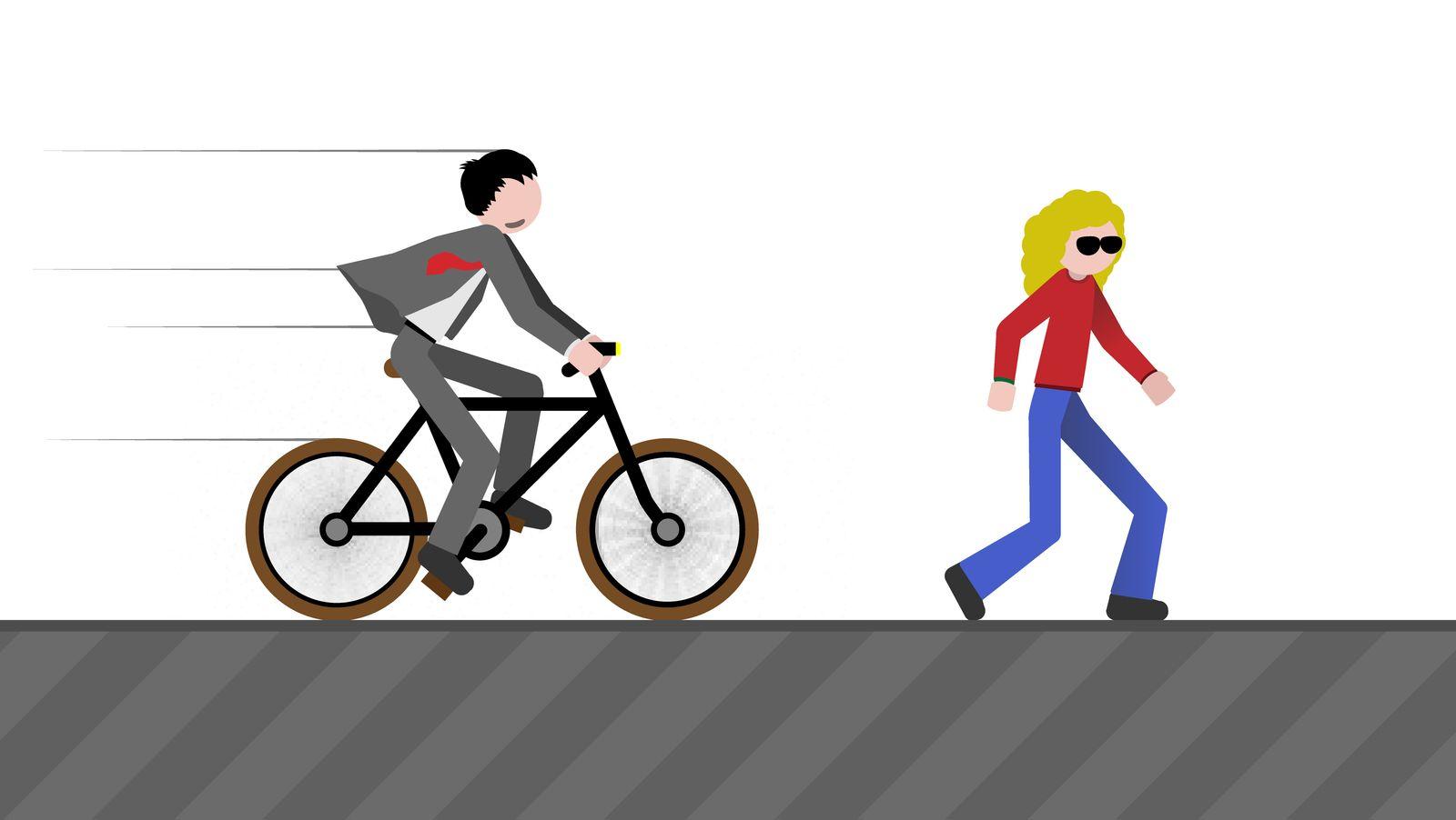 rdw radfahrer und fussgänger