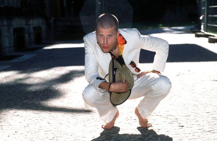 Stuckrad-Barre im Jahr 2000, auf dem Höhepunkt seines Ruhms
