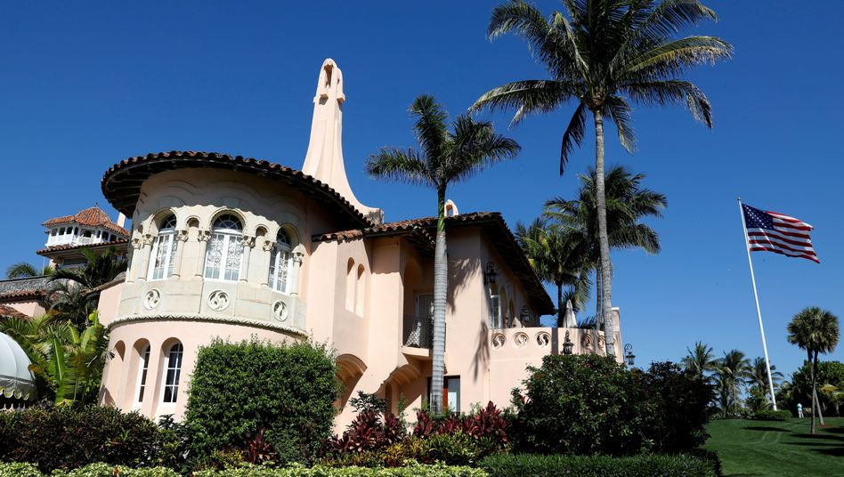 Trumps Mar-a-Lago-Domizil in Palm Beach, Florida