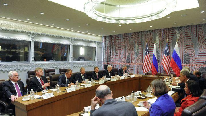 Obama und Putin in New York: Treffen der Präsidenten