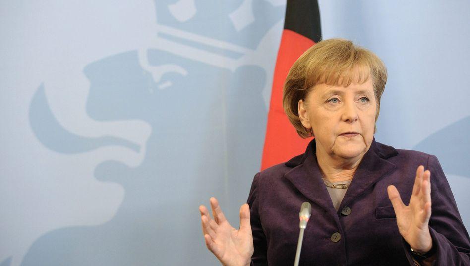 """Bundeskanzlerin Merkel: """"Noch viele Fragen offen"""""""