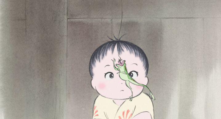 """Szenenbild aus """"Die Legende der Prinzessin Kaguya"""""""