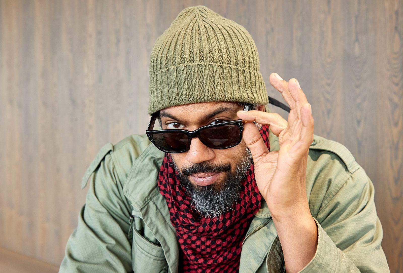 Rapper Samy Deluxe