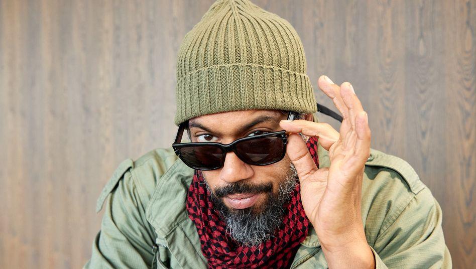 """Rapper Samy Deluxe: """"Aber ich freu mich auf die Zukunft hier in diesem Laden"""""""