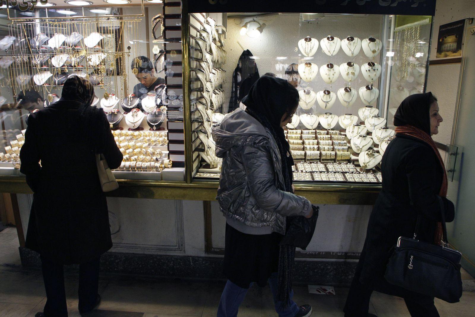 Iran / teheran / Gold Markt