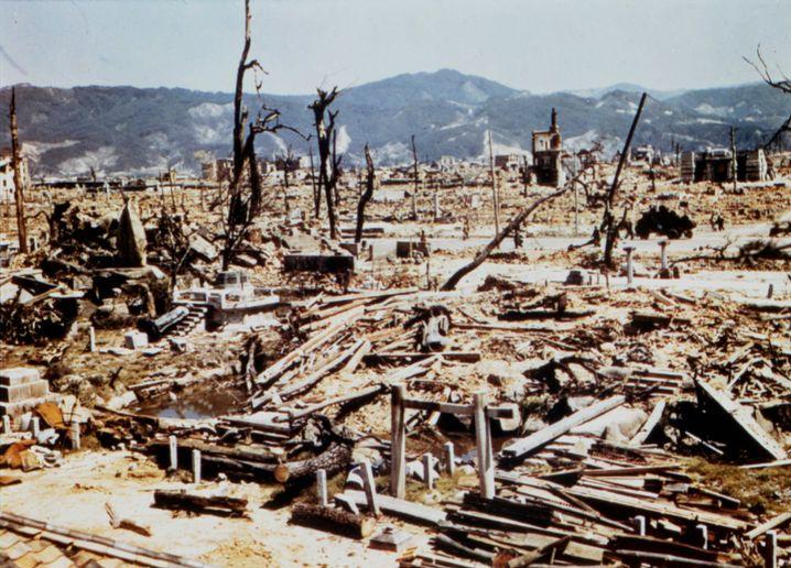 Hiroshima nach der Zerstörung