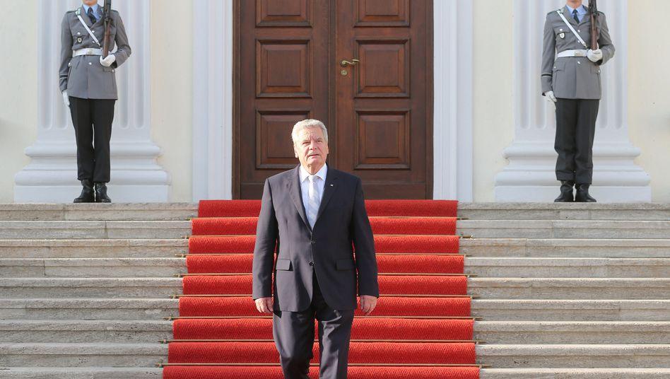 Bundespräsident Gauck: Eingriff in die Regierungsbildung