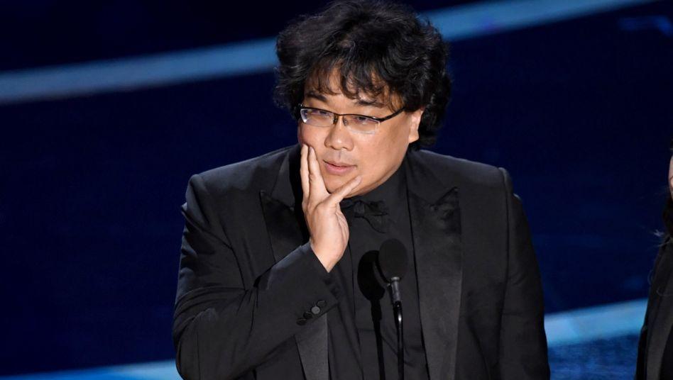 Regisseur Bong Joon-ho bei den Oscars