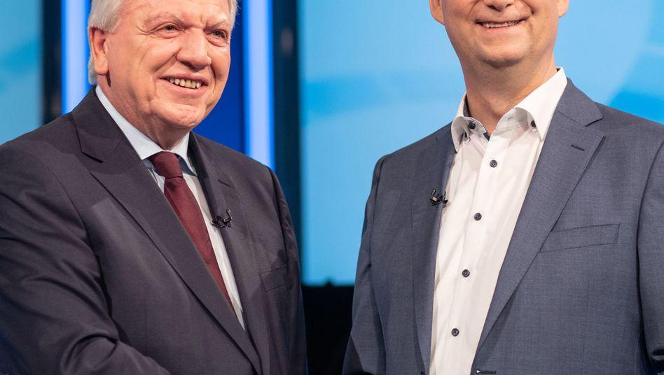 Volker Bouffier, Thorsten Schäfer-Gümbel