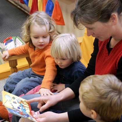 Kindergartenkinder: Streit um Betreuung