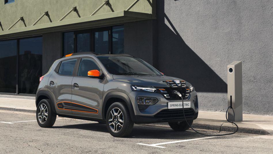 Stromern für wenig Geld: Das verspricht der Dacia Spring