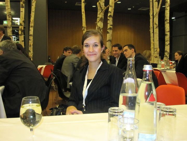 Sandra Hegewald , 25, absolviert das Masterprogramm beim IT-Konzern IBM