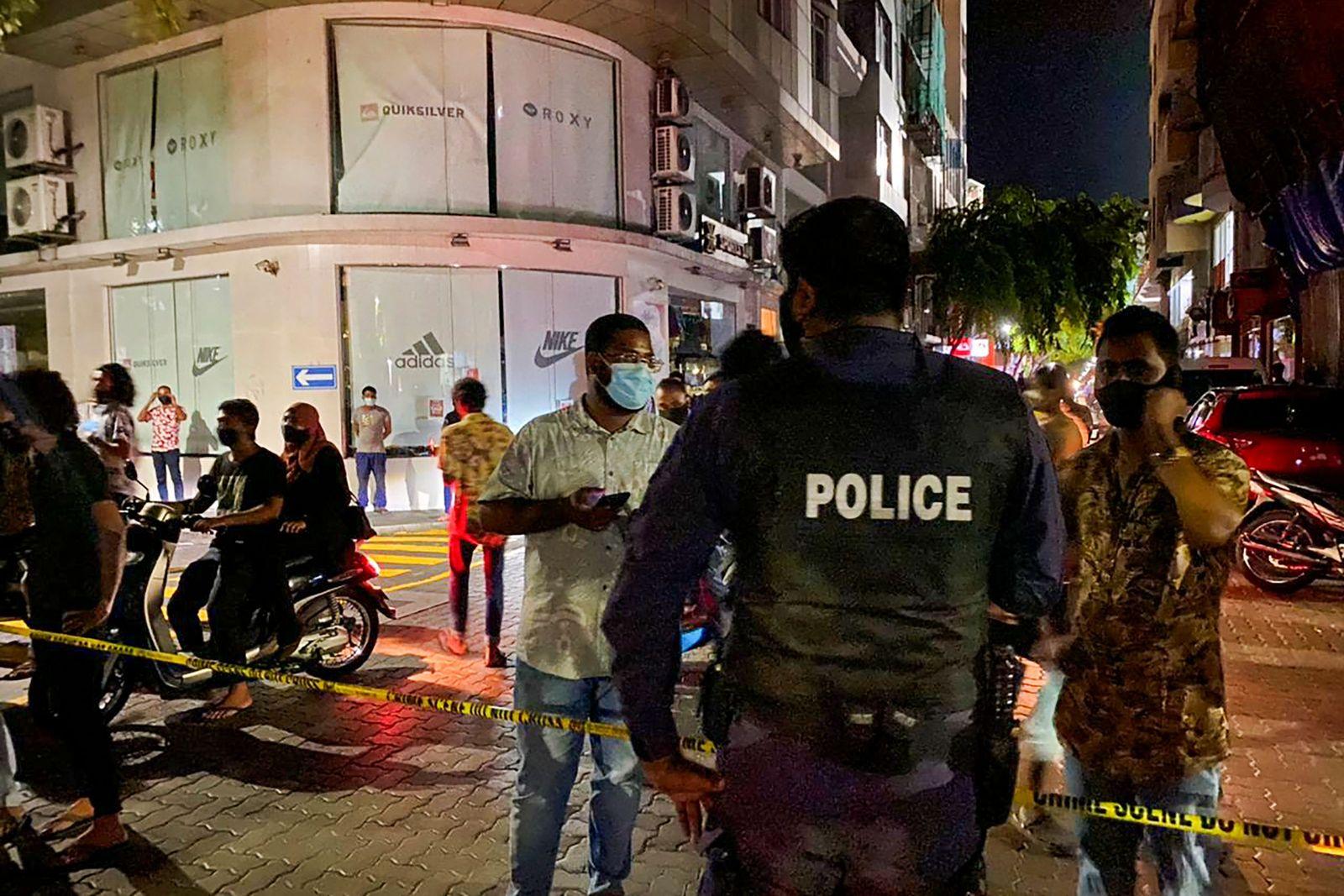 MALDIVES-POLITICS-ATTACK