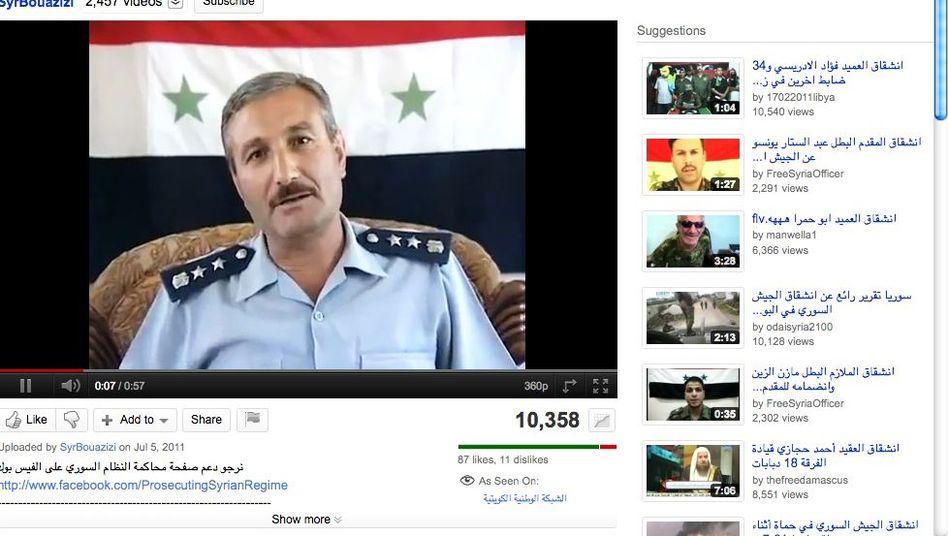 """Oberst Asaad: Deserteur und Gründer der """"freien syrischen Armee"""""""
