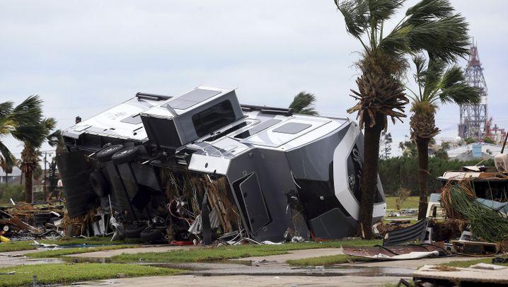 "Hurrikan ""Harvey"": Bild der Zerstörung"