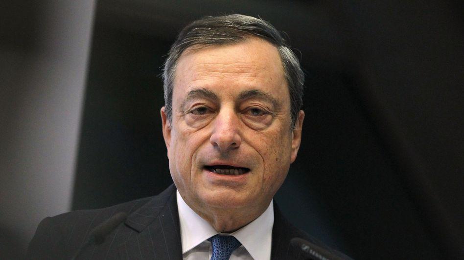 EZB-Präsident Mario Draghi: Einlagensicherung vorantreiben