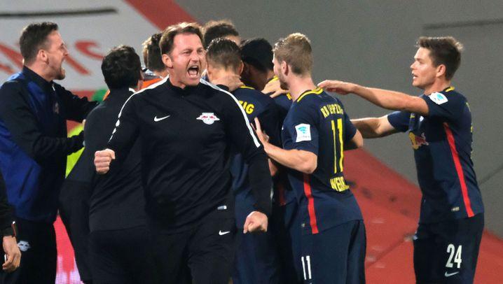 Leipzigs Sieg gegen Wolfsburg: Angekommen in der Spitzengruppe