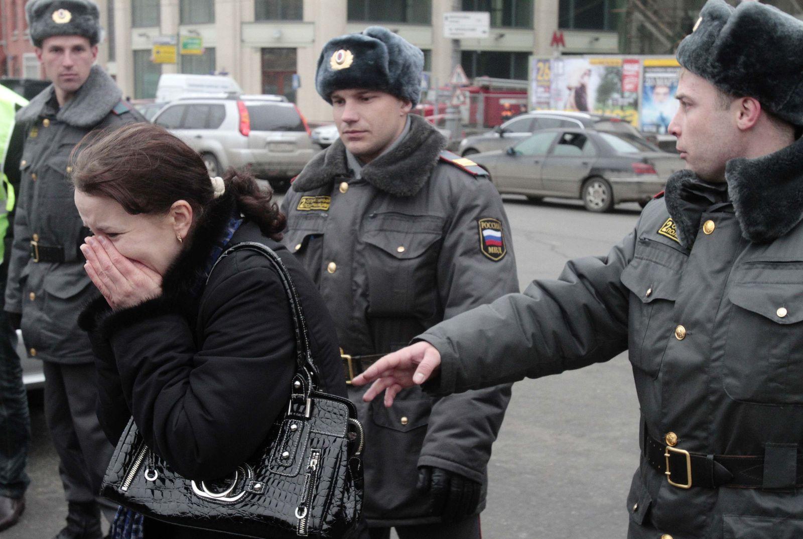 Anschläge Moskau