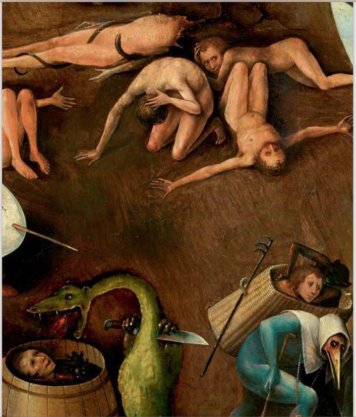 """Hieronymus Bosch, """"The Last Judgement,"""" from around 1506."""