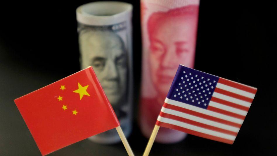 Die Beziehung zwischen China und den USA scheint sich zu entspannen (Symbolbild)