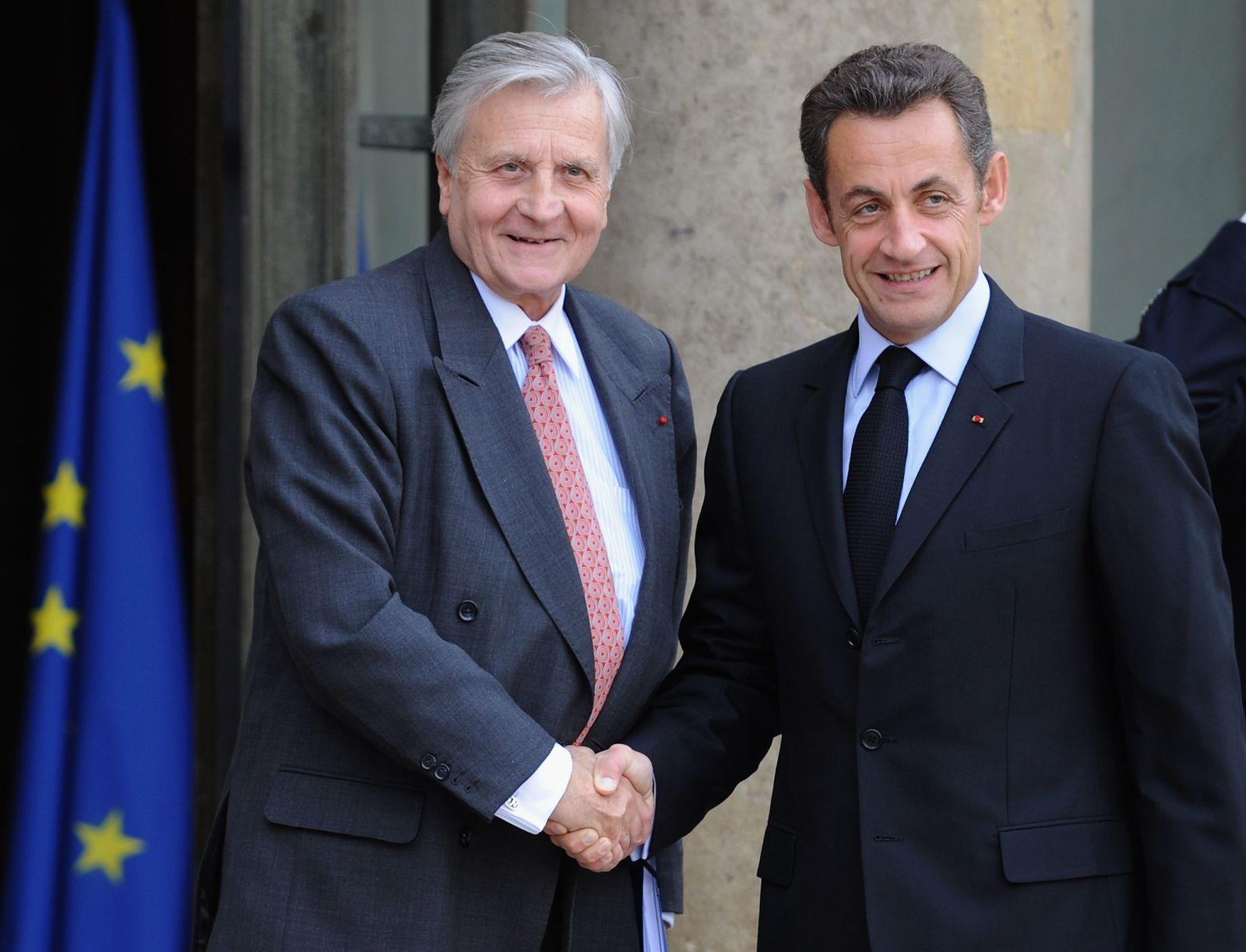 Jean-Claude Trichet / Sarkozy