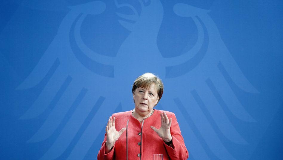 """Kanzlerin Merkel nach dem Video-Gipfel: Jetzt ist die Zeit, """"langsam aufeinander zuzugehen"""""""