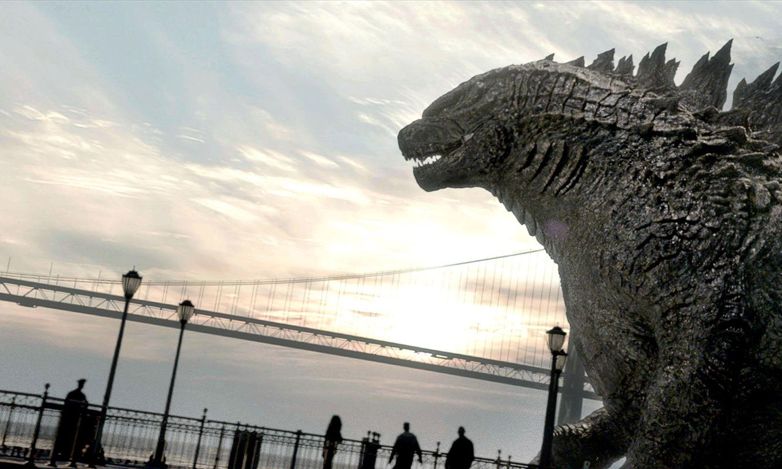 EINMALIGE VERWENDUNG Film/ Godzilla (2014) VID