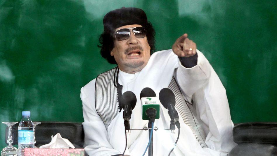 Reaktionen auf Dschihad-Rede: Gaddafis Schweiz-Bashing empört Uno und EU