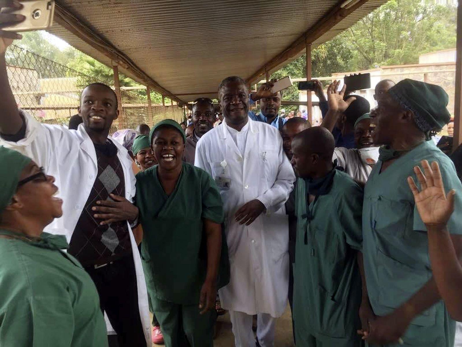 Mukwege erhält den Friedensnobelpreis