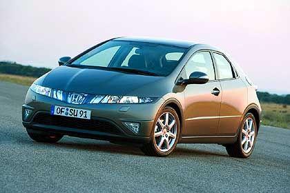 Honda Civic: Markantes Gesicht in der Kompaktwagenmenge