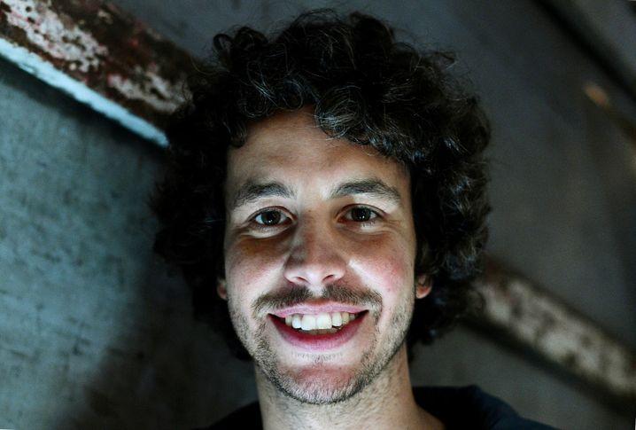 Mattia Santori, einer der Gründer der Sardinen-Bewegung