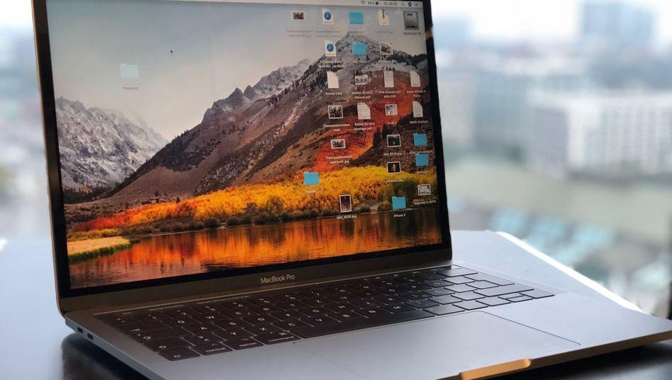 MacBook mit macOS High Sierra