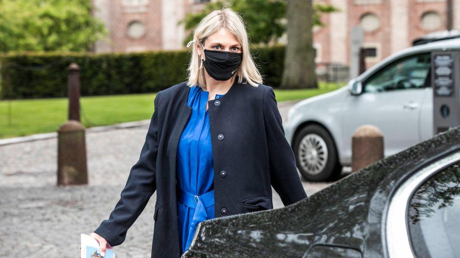 Dänemarks Verteidigungsministerin Trine Bramsen gerät zunehmend in Erklärungsnot
