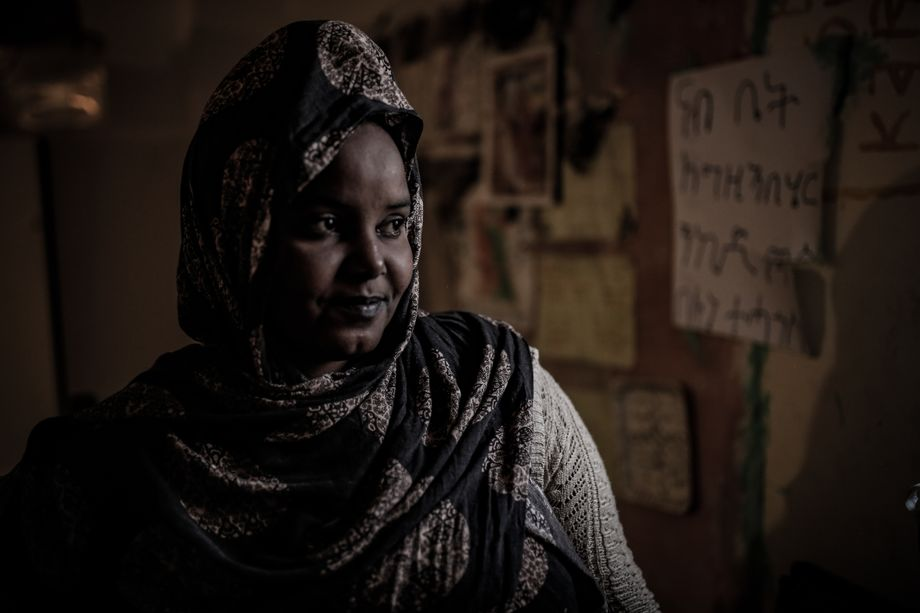 """An Ethiopian woman at the Tarik al-Sikka detention center in Tripoli: """"Sexual violence, abduction for ransom, forced labor and unlawful killings."""""""