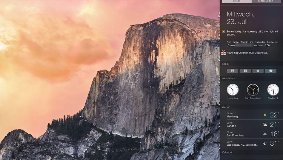 OS X Yosemite: Auch bei aktiver Kindersicherung Zugriff auf viele Websites