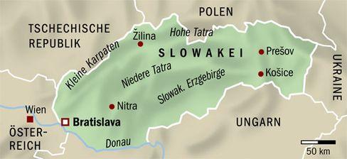 Slowakei: Land der Berge, Wälder und Höhlen