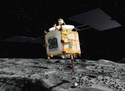 Japanische Mission: Sonde landet auf Asteroiden