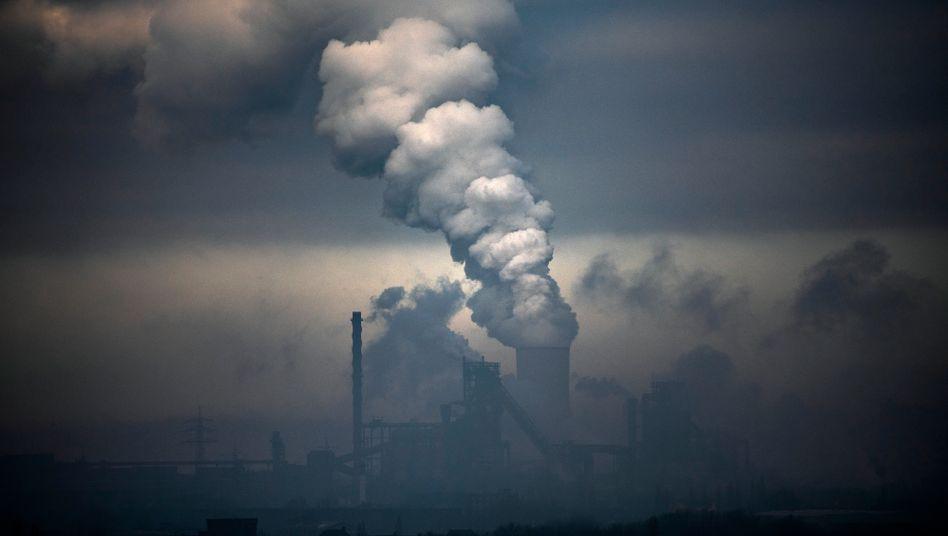 Kohlekraftwerk in Duisburg