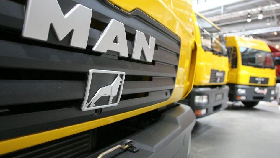 MAN-Laster: Engere Zusammenarbeit von VW, Scania und MAN angestrebt