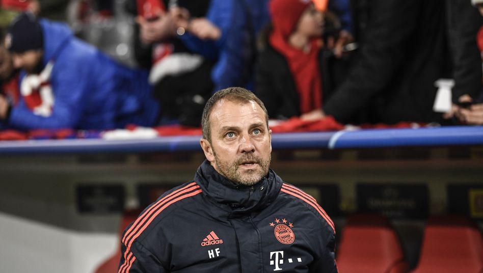 Hansi Flick: Der FC Bayern ist zufrieden mit seiner Arbeit