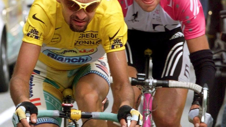 Früherer Radprofi Pantani (l.): Verdacht auf Totschlag