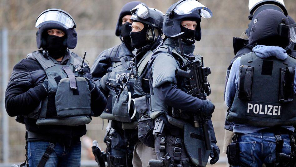 Mitglieder eines Spezialeinsatzkommandos (Archivbild)