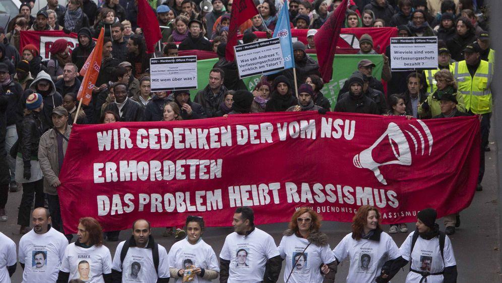 NSU-Terror: Protest gegen Rassismus